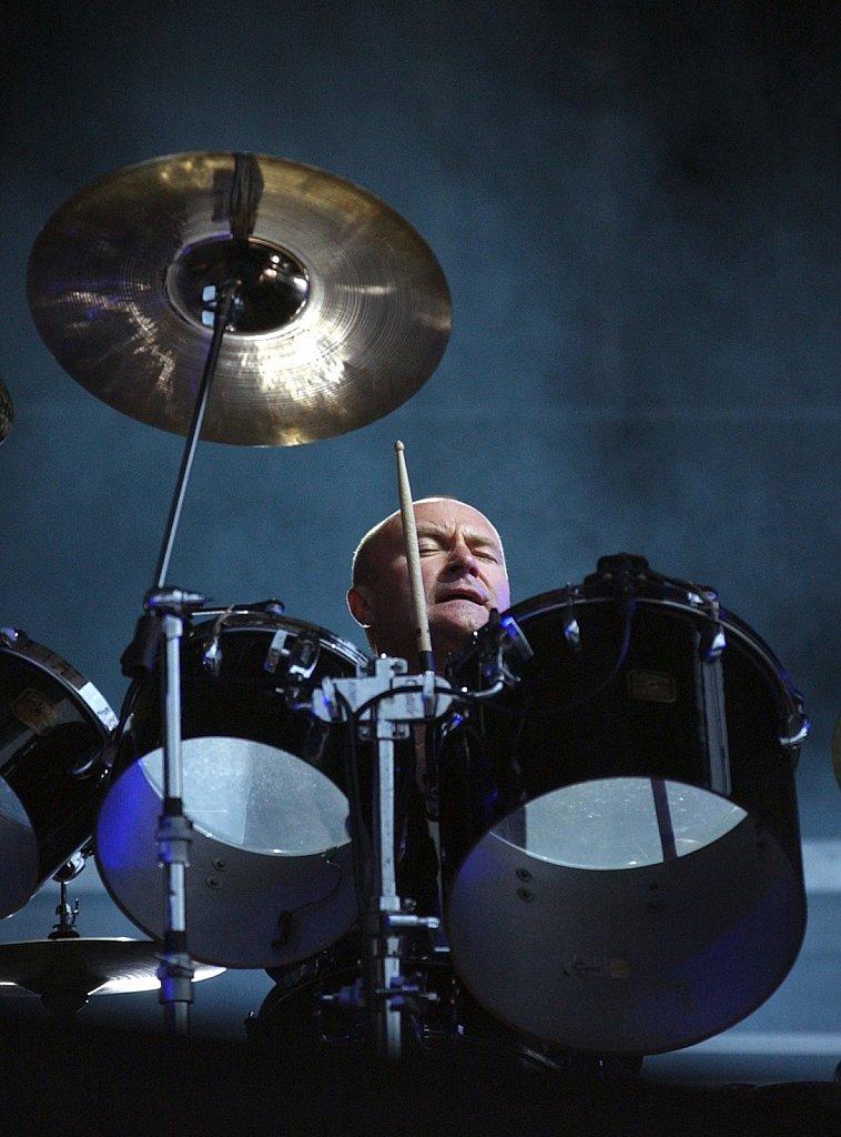 Phil Collins live in Zurich
